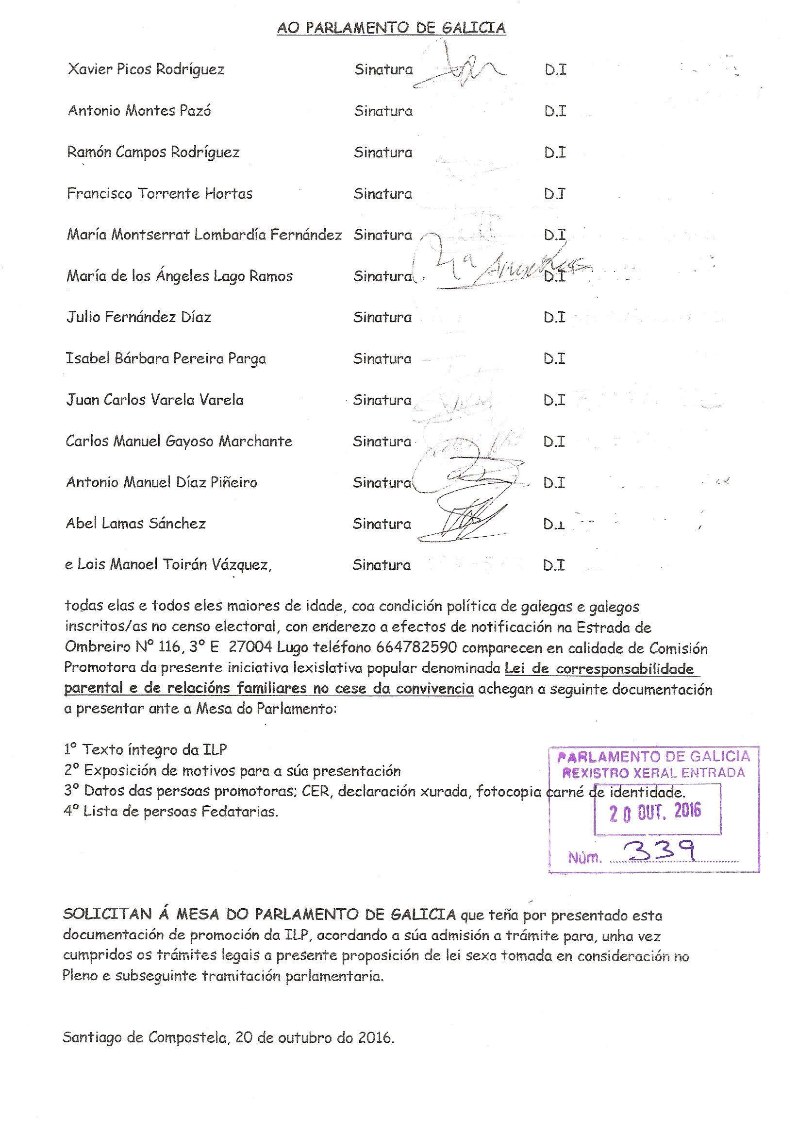 Sección ASOCIACIÓN GALLEGA DE PADRES Y MADRES SEPARADOS. Asociación ...